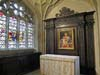 Photograph from Kings College Chapel at Cambridge