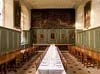 Photograph of the dining hall at Magdalene College at Cambridge