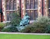 Photograph from Pembroke  College Cambridge - statue of William Pitt the Younger