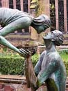 Photograph  Water of Life sculpure in Chester Cathedral