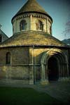 Photograph   Round chapel at Cambridge