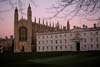 Photograph  Kings college at Cambridge