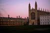 Photograph   from Kings  college cambridge  - Wren library