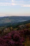 Photograph   from Baslow Edge in the Peak District