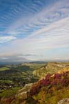 Photograph   from Curbar Edge in the Peak District