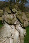 Photograph   from sculpture from Hopton Hall Gardens in Derbyshire