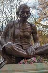 Photograph   from London Tavistock Square - Gandi statue