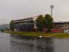 Photograph of Nottingham Forest ground across the river trent