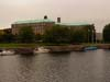 Photograph of  Nottingham county Offices on the river trent