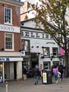 Photograph from Nottingham city centre  - Bell Inn