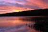 Photograph  early morning at staunton reservoir in derbyshire