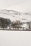 Photograph from Castleton in Derbyshire in winter